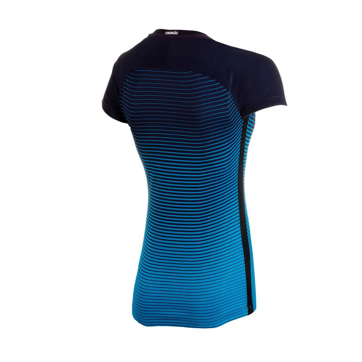 Camisa Nike Corinthians III 2016 2017 Torcedor Feminina e938c4468e1df