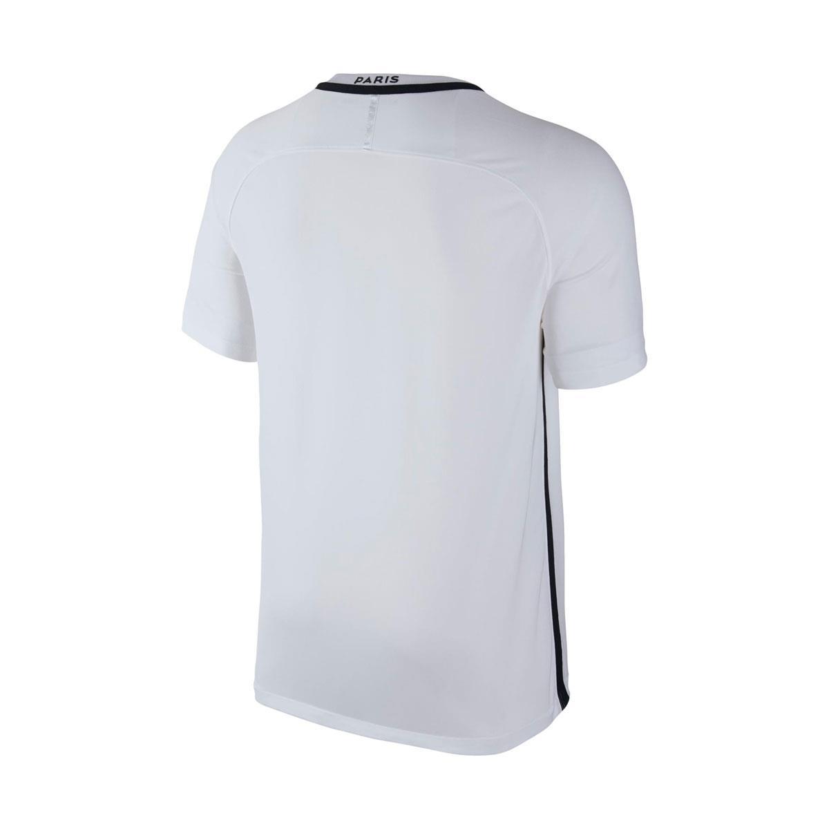 1acb6618bfbd3 Camisa NiKe PSG III Torcedor 2016 2017 Branca
