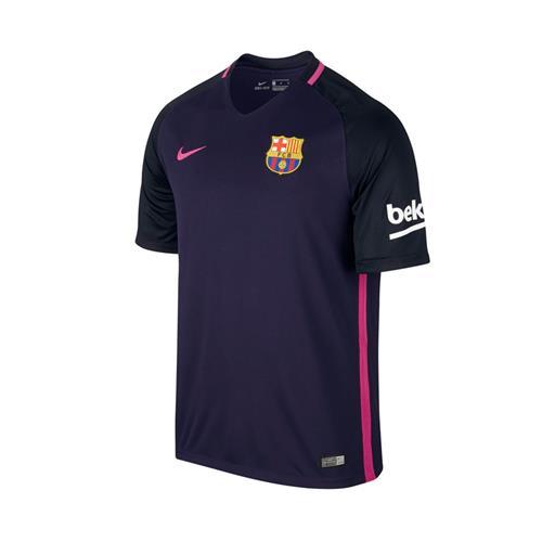 2651fc9da3 Camisa Nike Barcelona II 2016 2017 Torcedor Infantil