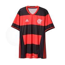 Camisa Adidas Flamengo I 2017 2018 Torcedor Masculina 6df7749829619