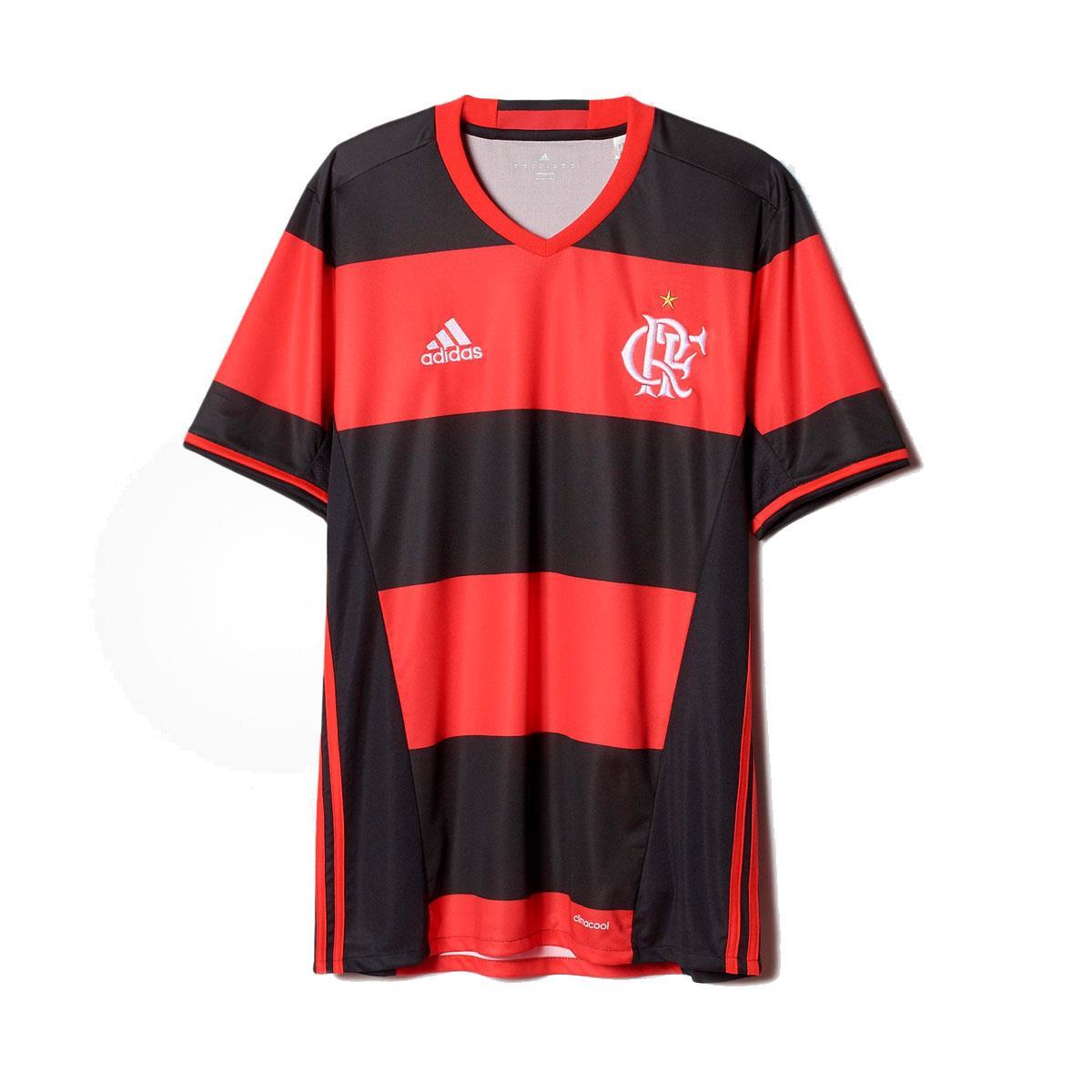 844c528c712 Camisa Adidas Flamengo I 2017 2018 Torcedor Masculina