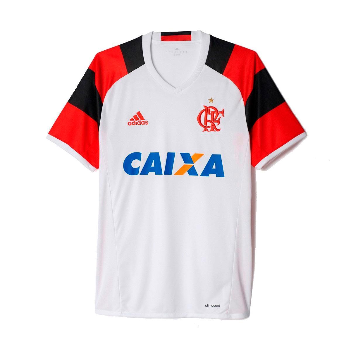 bb38c7c2d25 Camisa Adidas Flamengo II 2016 2017 Tocedor Masculina