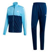 Agasalho Adidas Back 2 Basics Masculino Azul Claro f8c4b305988a8