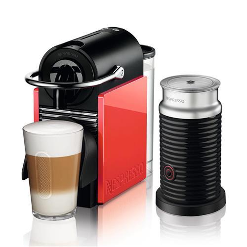 Cafeteira Nespresso Combo Pixie Clips com Aeroccino 3