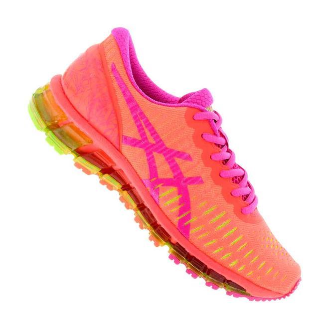 tenis asics rosa e laranja 0902d2a0a72e6