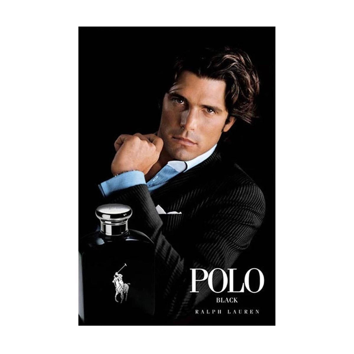 Perfume Ralph Lauren Polo Black Eau de Toilette Masculino 53c924727e9