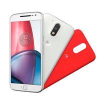 """Smartphone Motorola Moto G4 Plus com Dual Chip, Tela de 5.5"""", 4G, 32 GB, Câmera 16MP + Frontal 5MP e Android 6.0"""