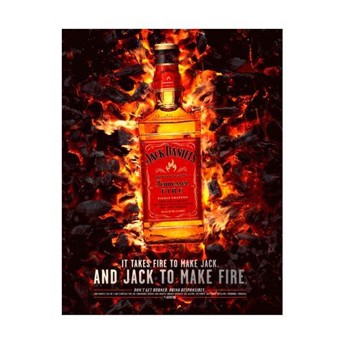 Whiskey Jack Daniel's Fire