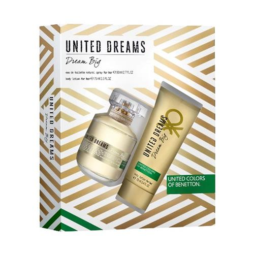 Coffret benetton united dream big feminino eau de for Benetton dream big