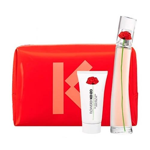 16799bca63 Coffret Kenzo Flower by Kenzo Feminino - Eau de Parfum 50 ml + Body Milk 50  ml ...