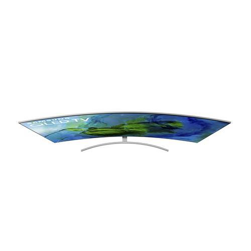 Smart TV Tela Curva QLED 4K Samsung QNQ8CAMGXZD Wi-Fi, HDR e Pontos Quânticos