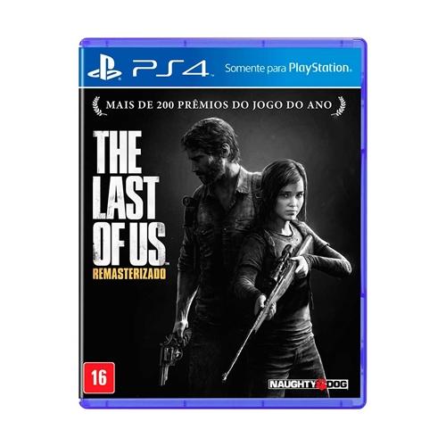 Jogo The Last Of Us Remasterizado - Playstation 4 - Square Enix