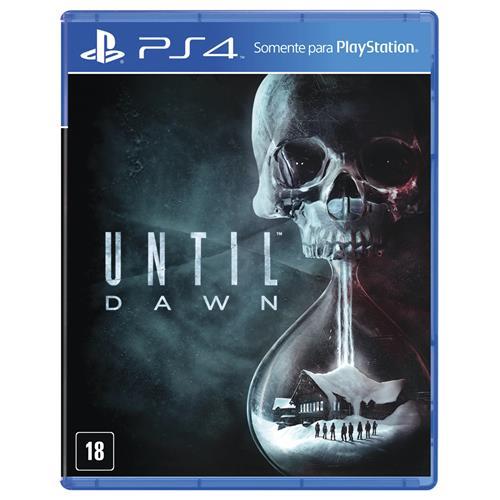 Jogo Until Dawn - Playstation 4 - Sieb