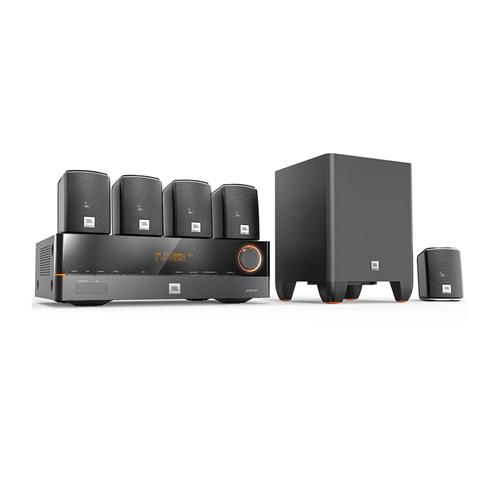 Home Theater JBL Cinema J-5100 5.1 Canais HDMI 3D