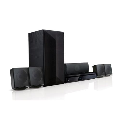 Home Theater LG LHB625M 1000W, 5.1 canais, Blu-Ray 3D e Bluetooth