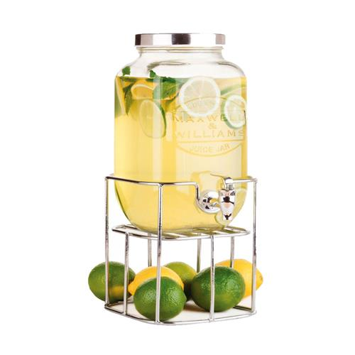 Jarra de Suco Maxwell & Williams Olde English 3,5L com Base Cromada