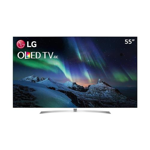 "Smart TV OLED 55"" Ultra HD 4K LG OLED55B7P com Sistema WebOS 3.5, Wi-Fi, HDR, Dolby Vision, Billion Rich Colors, Controle Smart Magic, HDMI e USB"