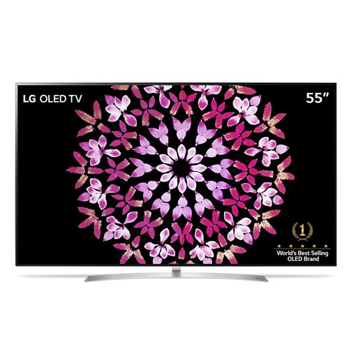 "Smart TV OLED 55"" Ultra HD 4K LG OLED55B7P com Sistema WebOS 3.5, Wi-Fi, HDR, Dolby Vision, Billion Rich Colors, Controle Smart Magic, HDMI e USB"