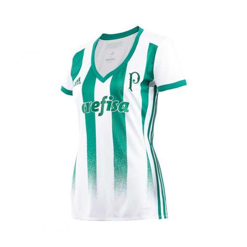 Camisa Adidas Palmeiras II 2017 Feminina 647f7ad844557