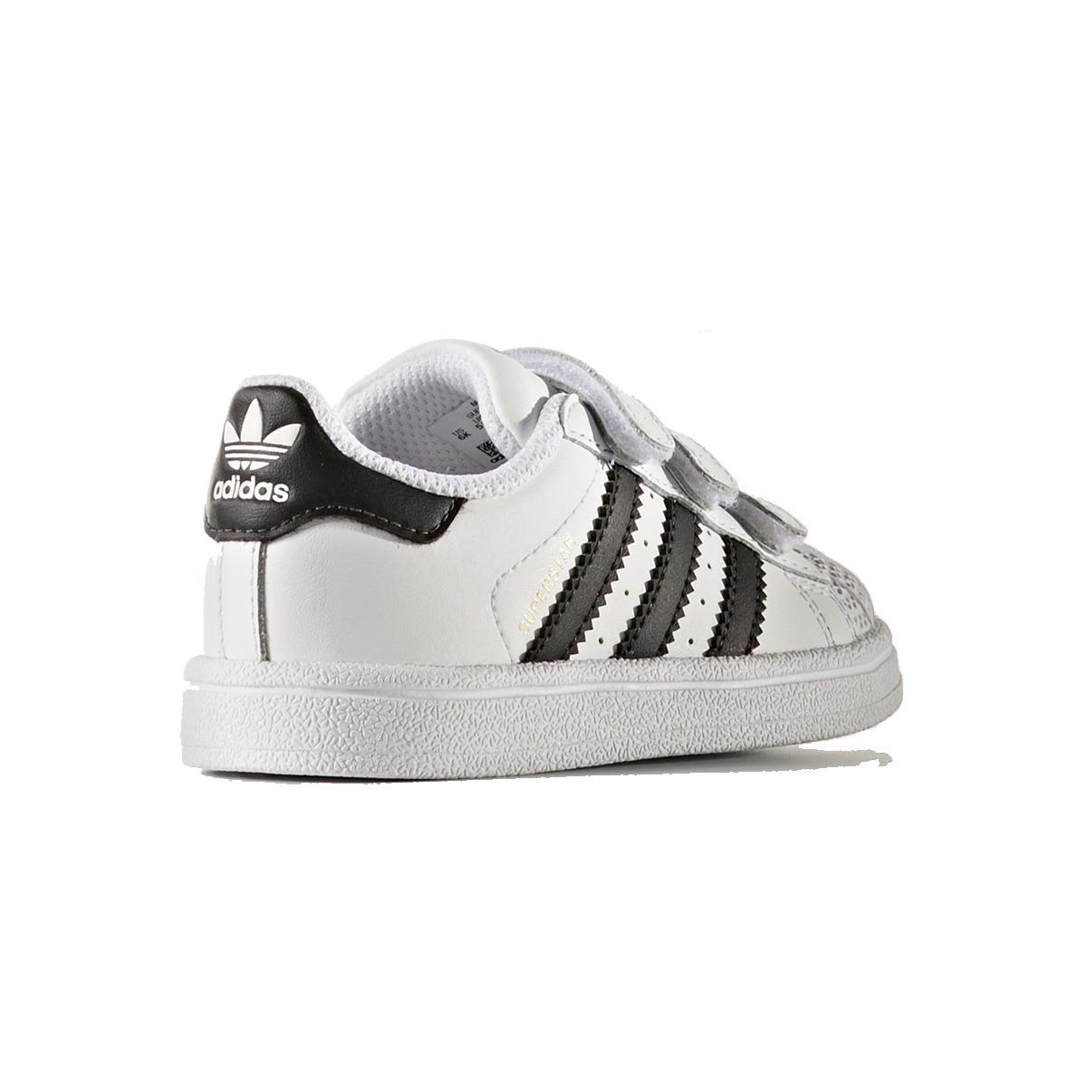 5db8ad340 Tênis Adidas Superstar CF I Infantil
