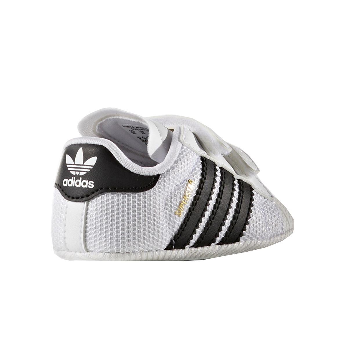 dbae940b7 Tênis Adidas Superstar Crib Infantil