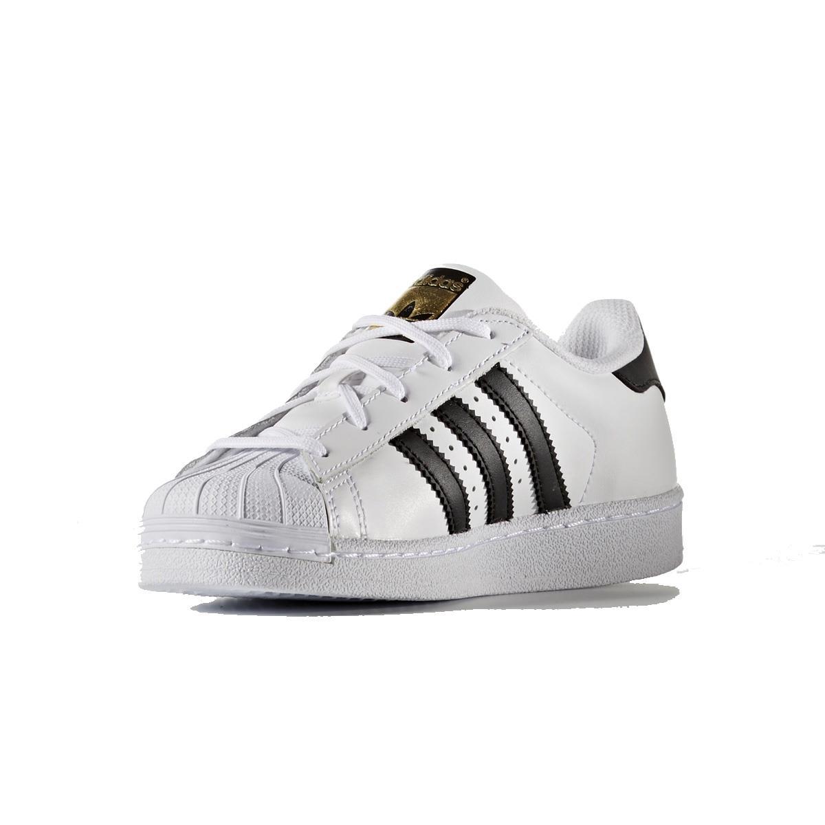 9eb1b4f3c Tênis Adidas Superstar Foundation Infantil Branco