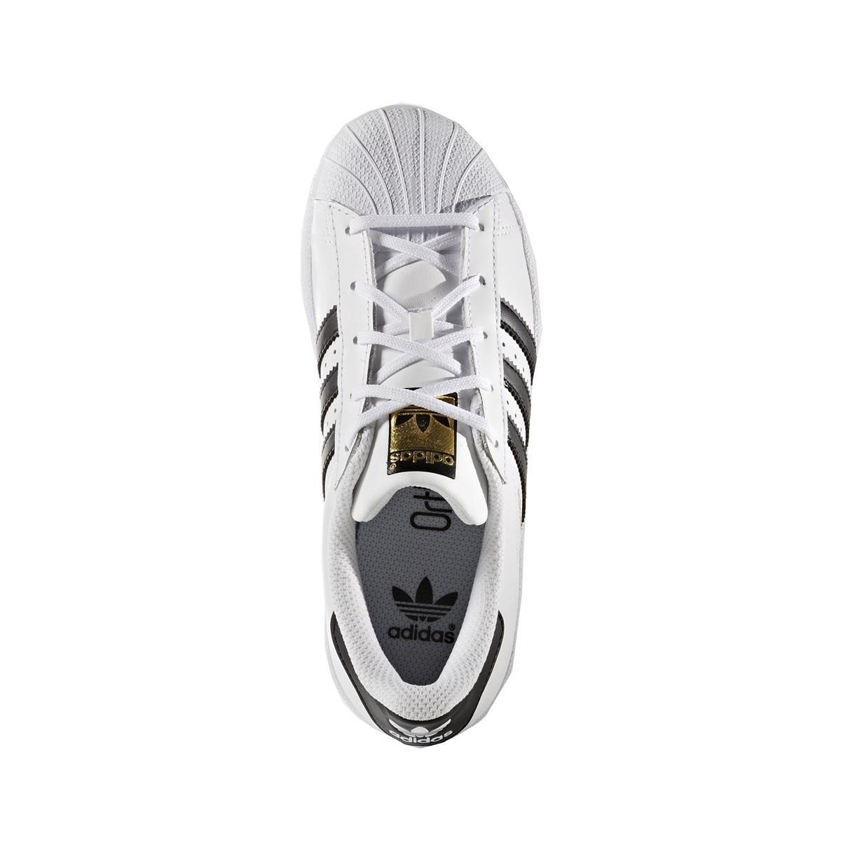 Tênis Adidas Superstar Foundation Infantil 8465943fa867d