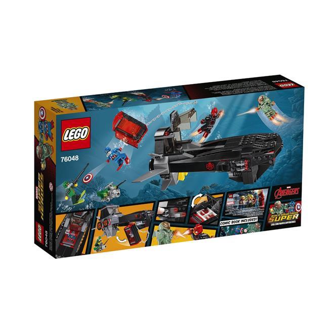 9789950fe6395 LEGO Super Heroes - Ataque do Submarino Caveira de Ferro - 335 Peças.  Ampliar