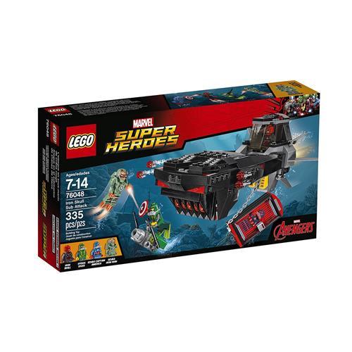 e63f8b34c8d2e LEGO Super Heroes - Ataque do Submarino do Caveira Vermelha - 335 Peças