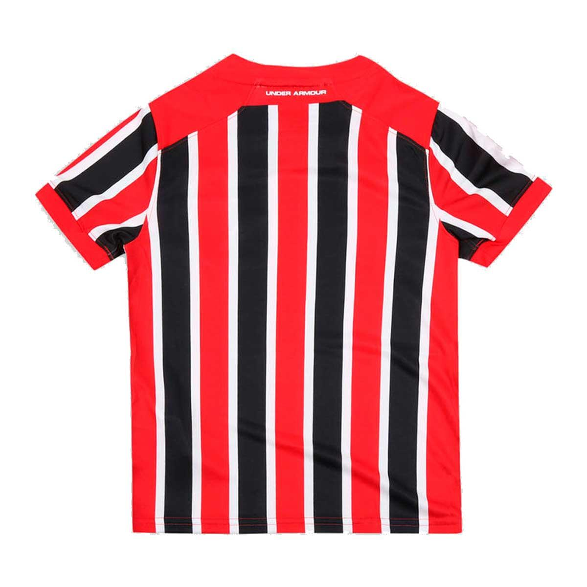 2d524d30a5d Camisa Under Armour São Paulo Torcedor Infantil 2017 2018