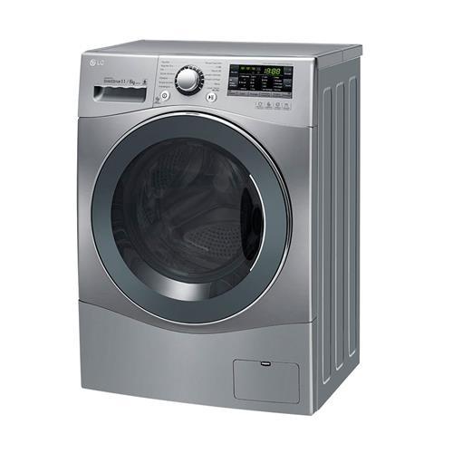 Lava e Seca LG Prime Touch WD11EP6A Inox 11kg e 14 Programas de Lavagem