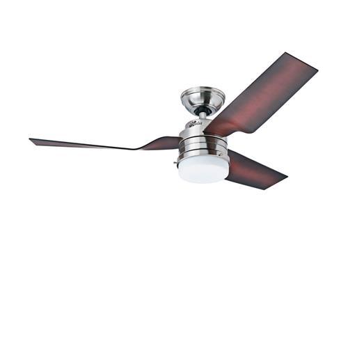 Ventilador de Teto Hunter Avanti com Luminária e Controle de Parede 220V