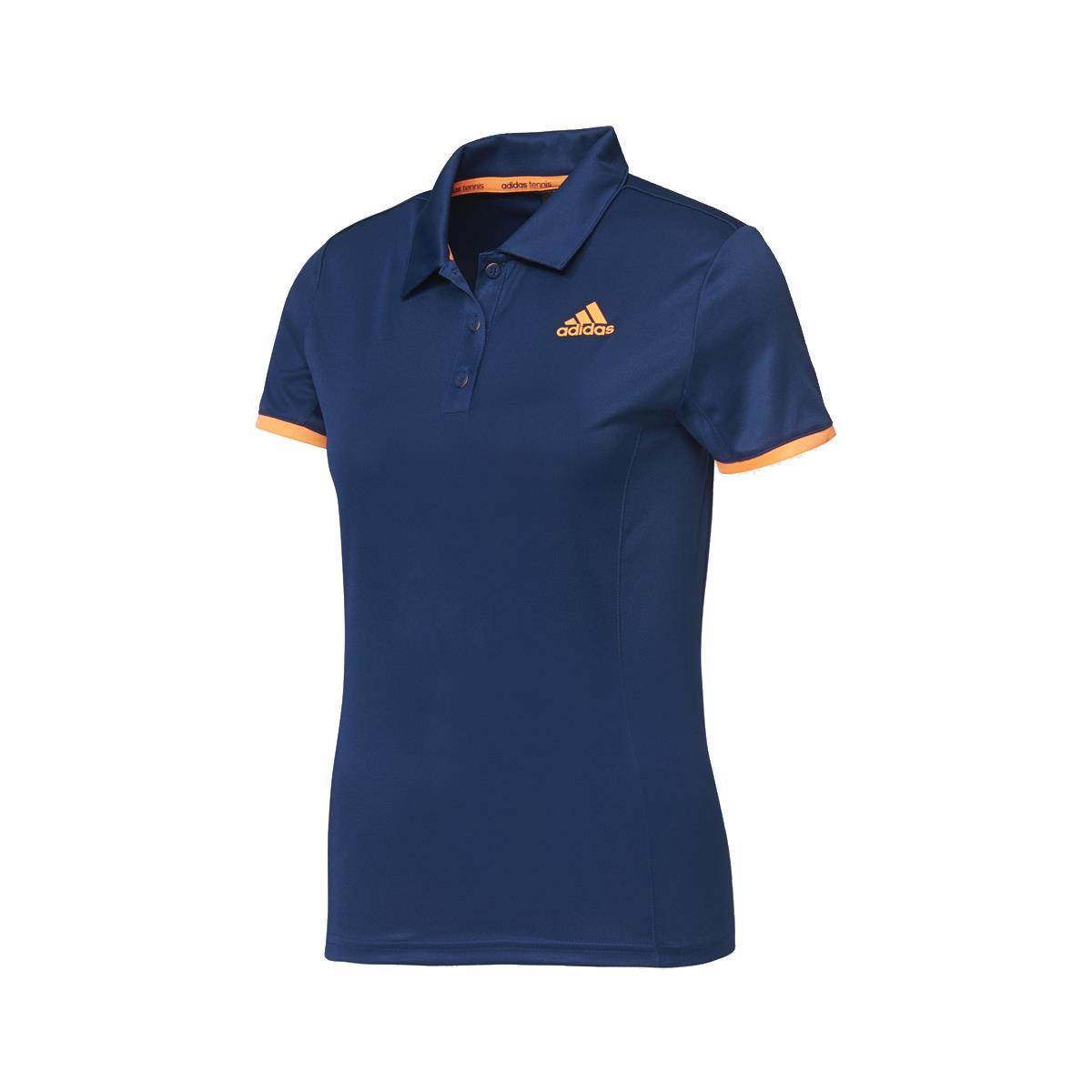 6fb240d730d24 Camiseta Polo Adidas Galaxy Court Feminina