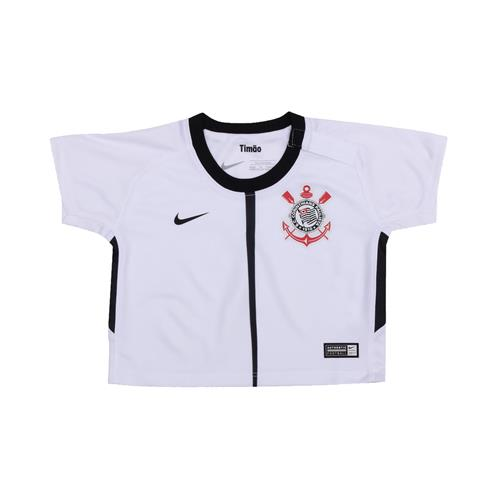 edfc30dcb5 Camiseta Bebê Nike Corinthians I 2017 18