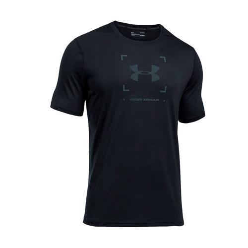 Humorístico vehículo Chirrido  Camiseta Under Armour Threadborne Target Logo Masculino