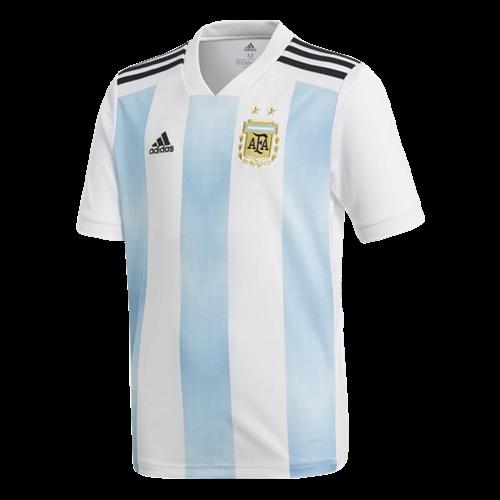 9daa9de6c Camisa Adidas Argentina 1 2018 Infantil