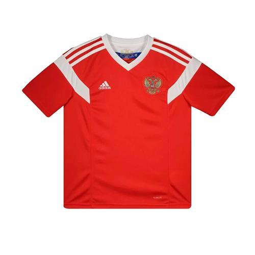 8a142e5a22 Camiseta Adidas Russia 1 2018 Infantil
