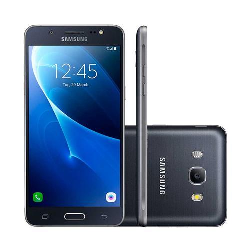"""Smartphone Samsung Galaxy J7 Metal com Dual Chip, Tela de 5.5"""", 4G, 16GB, Câmera 13MP + Frontal 5MP e Android 6.0"""