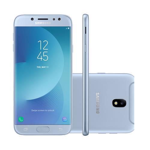 "Smartphone Samsung Galaxy J7 Pro 5.5"", 64GB, Câmera 13MP + Frontal 13MP e Android 7.0"
