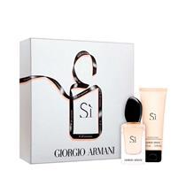 Coffret Giorgio Armani SÍ Eau de Parfum 30ml+Body Lotion 75ml Feminino