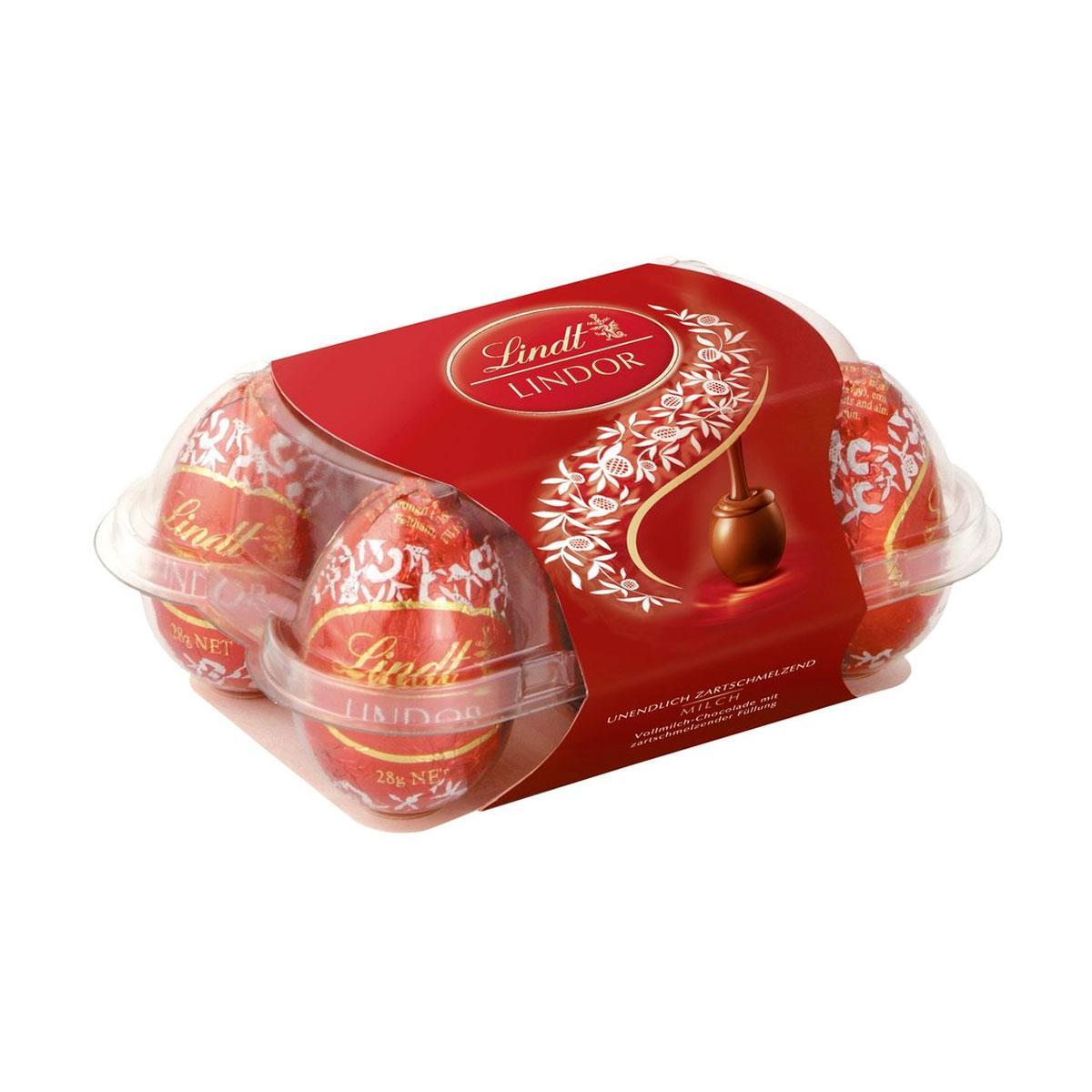 18e31b650ec3f Mini Ovos Lindt Lindor Chocolate ao Leite 168g