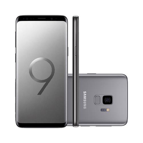 "Smartphone Samsung Galaxy S9 5.8"", Câmera 12MP + Frontal 8 MP com Android 8.0"