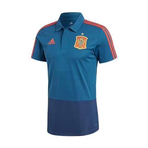 Camisa Polo Adidas Espanha Masculino 70e2aa1a8dcb5