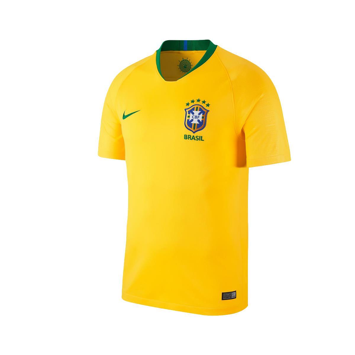 e3d4f8b919287 Camisa Nike Brasil 2018 19 Torcedor Réplica Masculina