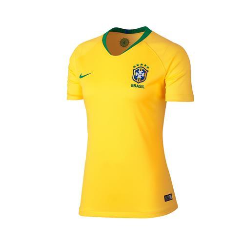 d76207d6d5aeb Camisa Nike Brasil 2018 19 Torcedora Réplica Feminina