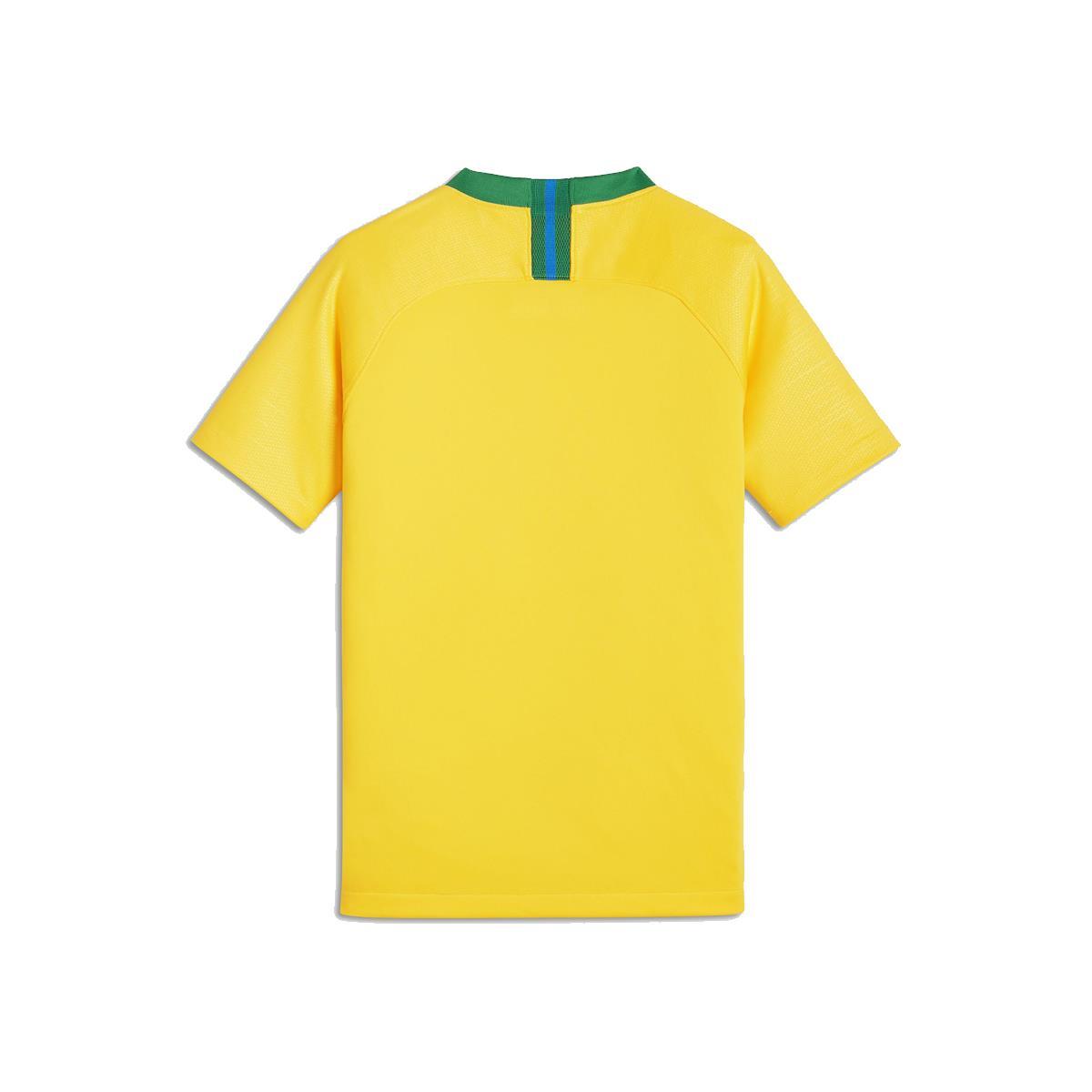 637aef9b6 Camisa Nike Brasil 2018 19 Torcedor Réplica Infantil