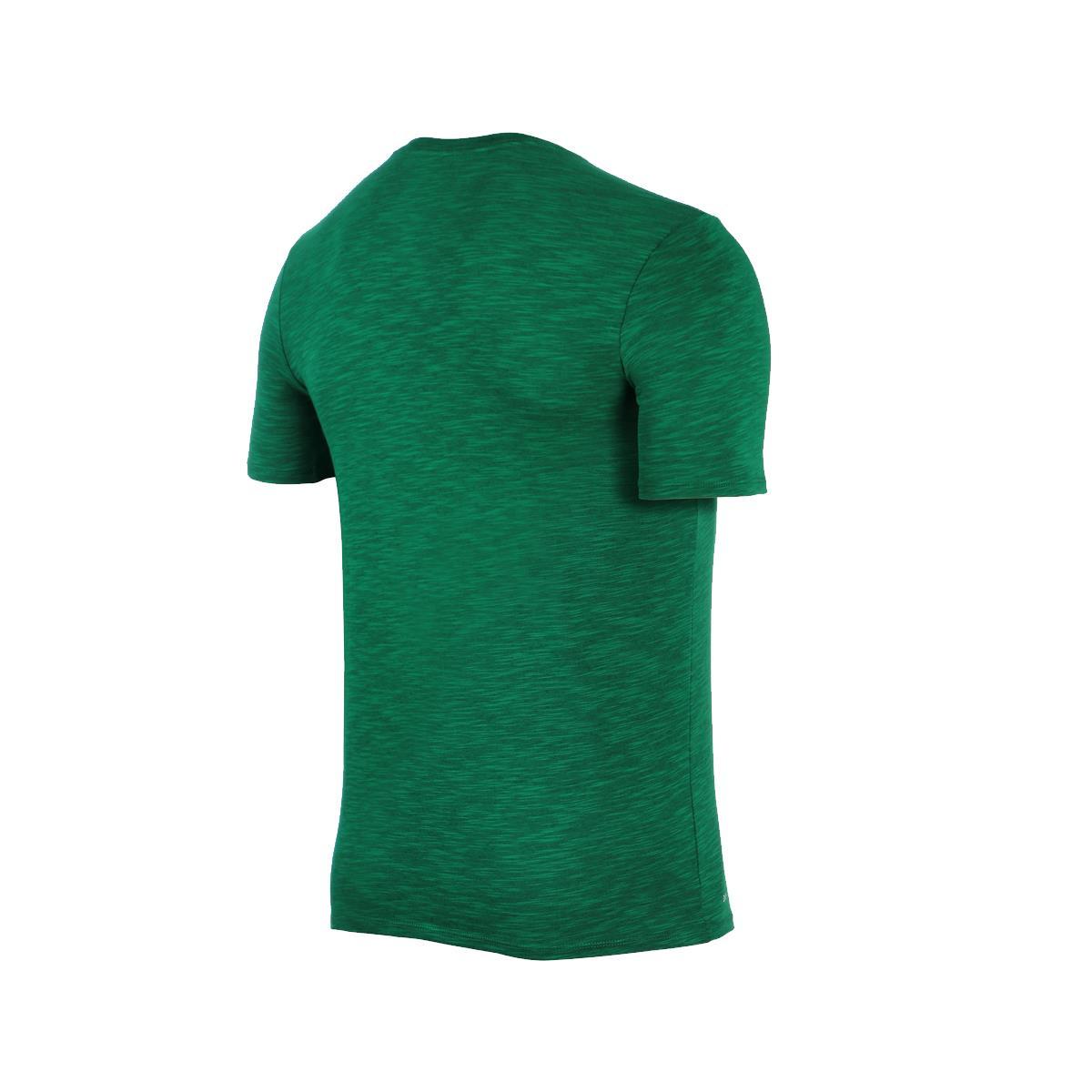 923727262889d Camiseta Nike Brasil Concentração Masculina Verde   Amarela
