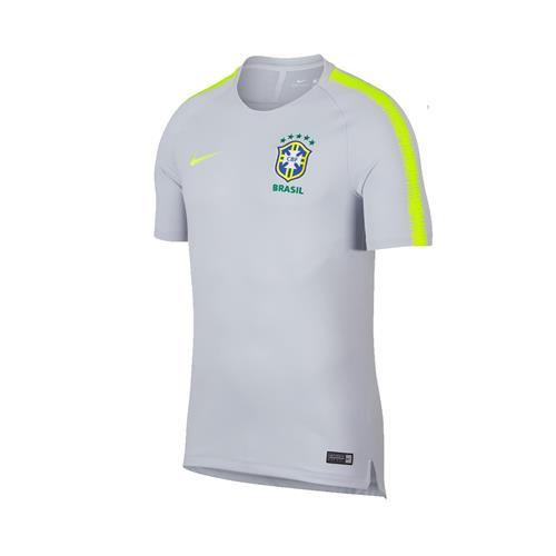 Camisa de Treino Nike Brasil Breathe Masculina 83cf3a7a8aa6f