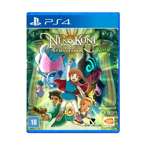 Jogo Ni no Kuni Wrath Of The White Witch Remastered - Playstation 4 - Bandai Namco Games