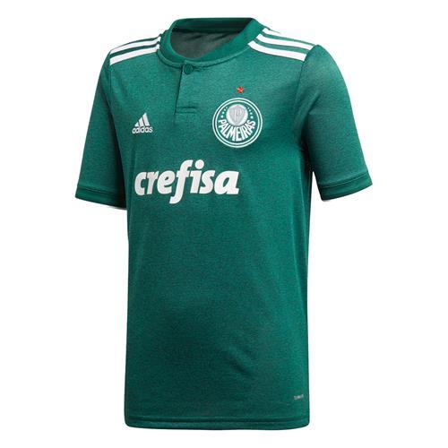 Camisa Adidas Palmeiras I 2018 Infantil 4b8f781f3e816
